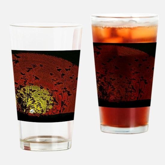 Bloody Sunrise Drinking Glass