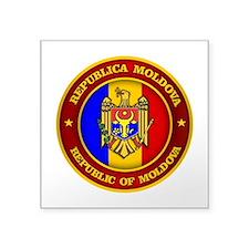 Moldova Medallion Sticker