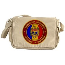 Moldova Medallion Messenger Bag