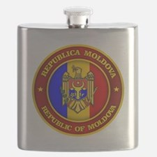 Moldova Medallion Flask
