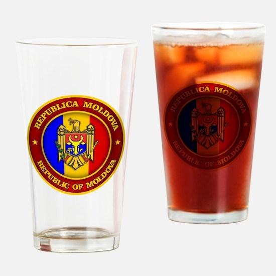Moldova Medallion Drinking Glass