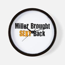 Sexy Miller Wall Clock