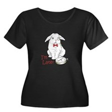 IM LATE Plus Size T-Shirt