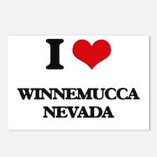 I love Winnemucca Nevada Postcards (Package of 8)