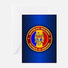 Moldova Medallion Greeting Cards