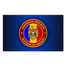 Moldova Medallion Decal