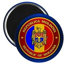 Moldova Medallion Magnets