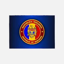 Moldova Medallion 5'x7'Area Rug