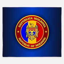 Moldova Medallion King Duvet