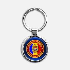 Moldova Medallion Keychains