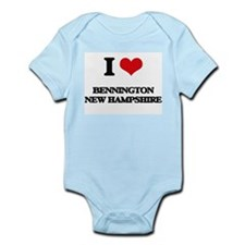 I love Bennington New Hampshire Body Suit