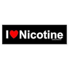 Nicotine Bumper Sticker