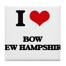 I love Bow New Hampshire Tile Coaster