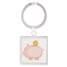 Coin in Piggy Keychains