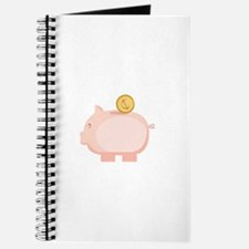 Coin in Piggy Journal