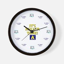 Cute New york time zone Wall Clock