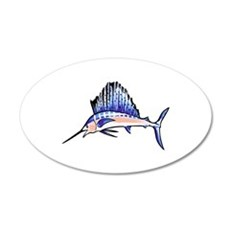 SAILFISH Wall Decal