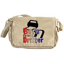 Born To Drift Messenger Bag