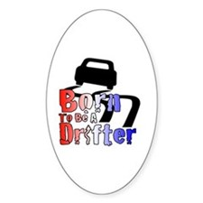 Born To Drift Decal