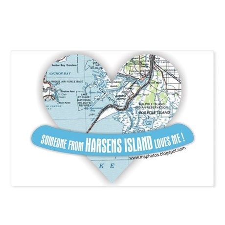 Harsens Island Postcards (Package of 8)