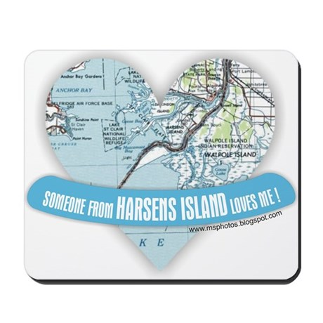 Harsens Island Mousepad