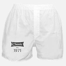 Classic est 1971 Boxer Shorts