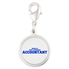 WORLD'S MOST AWESOME Accountant-Fre blue 600 Charm