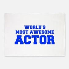 WORLD'S MOST AWESOME Actor-Fre blue 600 5'x7'Area