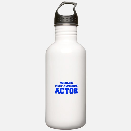 WORLD'S MOST AWESOME Actor-Fre blue 600 Water Bott