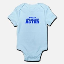 WORLD'S MOST AWESOME Actor-Fre blue 600 Body Suit