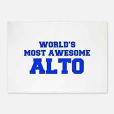 WORLD'S MOST AWESOME Alto-Fre blue 600 5'x7'Area R
