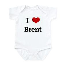 I Love Brent Infant Bodysuit