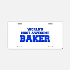WORLD'S MOST AWESOME Baker-Fre blue 600 Aluminum L