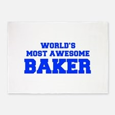 WORLD'S MOST AWESOME Baker-Fre blue 600 5'x7'Area