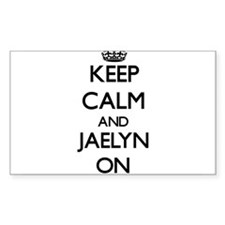 Keep Calm and Jaelyn ON Decal