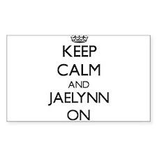 Keep Calm and Jaelynn ON Decal