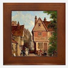 Old Houses, St. Peter's Gate, Nottingh Framed Tile
