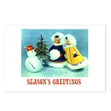 Kitschy Greetings - Season's Greetings Postcards (