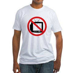 No TV! (Shirt, Made in the USA)