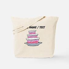 Three Layer Cake (Custom) Tote Bag