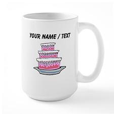 Three Layer Cake (Custom) Mugs