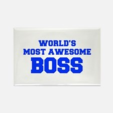WORLD'S MOST AWESOME Boss-Fre blue 600 Magnets