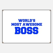 WORLD'S MOST AWESOME Boss-Fre blue 600 Banner