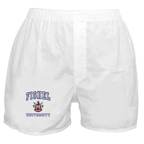 FISHEL University Boxer Shorts