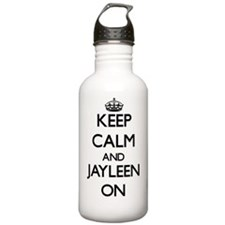 Keep Calm and Jayleen Water Bottle