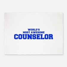 WORLD'S MOST AWESOME Counselor-Fre blue 600 5'x7'A
