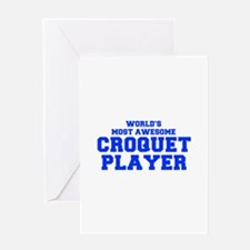 WORLD'S MOST AWESOME Croquet Player-Fre blue 400 G