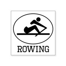 Rowing Sticker