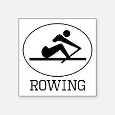 Rowing Sticker