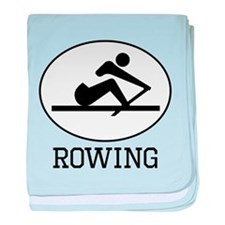 Rowing baby blanket